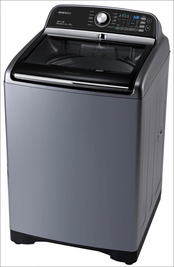 위니아대우가 파나마 시장에 새롭게 출시한 23kg 대용량 세탁기(사진=위니아대우)