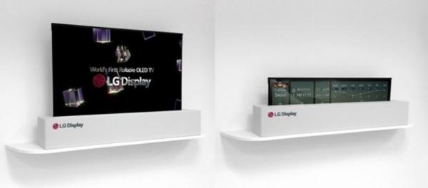 LG 롤러블 TV (사진=LG디스플레이)