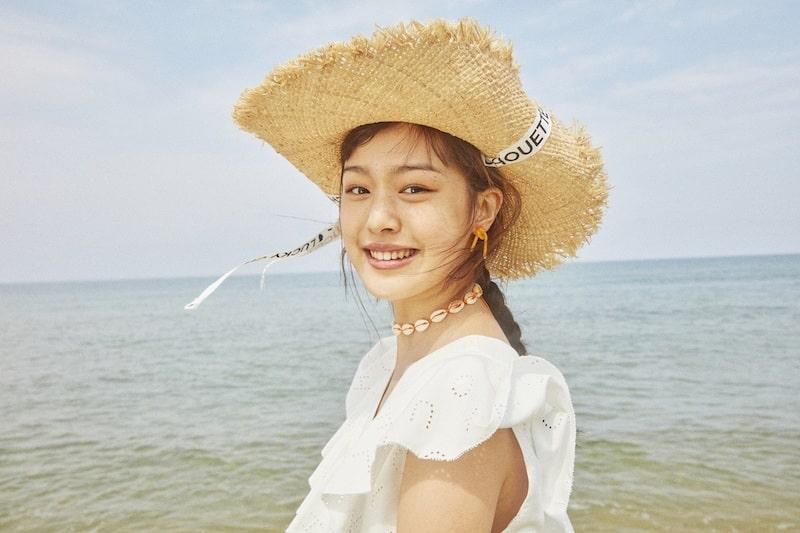 럭키슈에뜨 여름 모자