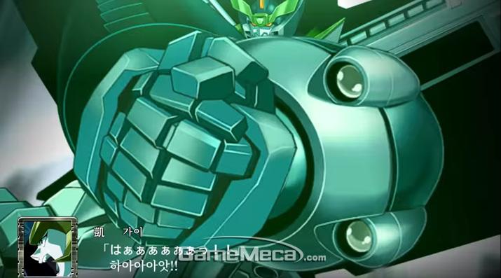 '슈퍼로봇대전 T' 스크린샷 (사진출처: 게임 공식 PV 갈무리)