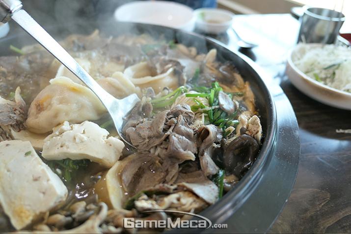 만두전골이 유명한 하남 '만두집'