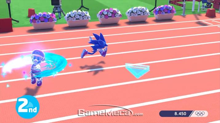 리우 올림픽 이후로 3년 만에 '마리오와 소닉 올림픽' 시리즈가 돌아왔다 (사진출처: 게임 공식 트레일러 갈무리)
