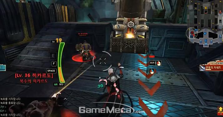 AOS 장르 인기 게임 중 하나인 '사이퍼즈' (사진출처: 공식 영상 갈무리)