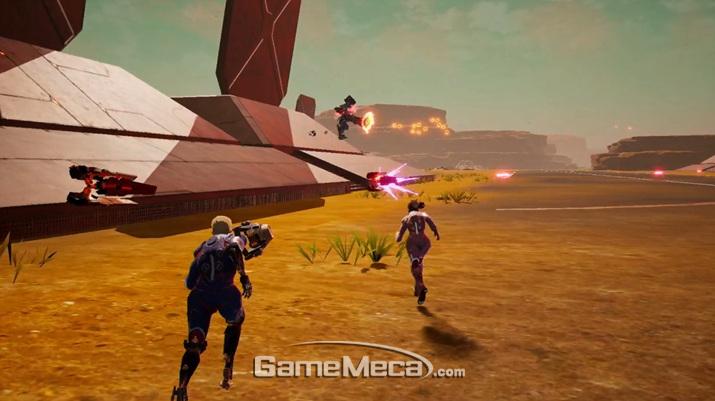 '데몬 엑스 마키나' 대표 스크린샷 (사진출처: 닌텐도 E3 2019 다이렉트 생방송 갈무리)