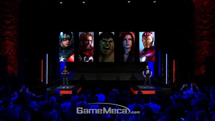 5명의 캐릭터를 플레이할 수 있다 (사진출처: 스퀘어에닉스 E3 쇼케이스 생방송 갈무리)