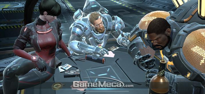 이렇게 생긴 캐릭터 세 명을 마음 껏 조종할 수 있다는 것이 이 게임의 장점 (사진: 게임메카 촬영)